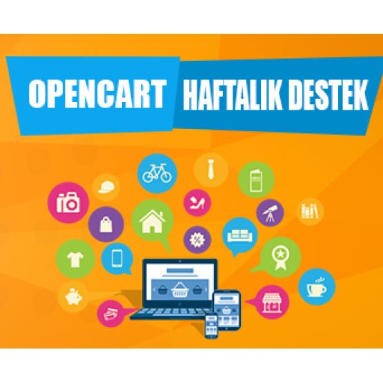 Opencart Haftalık Destek Paketi