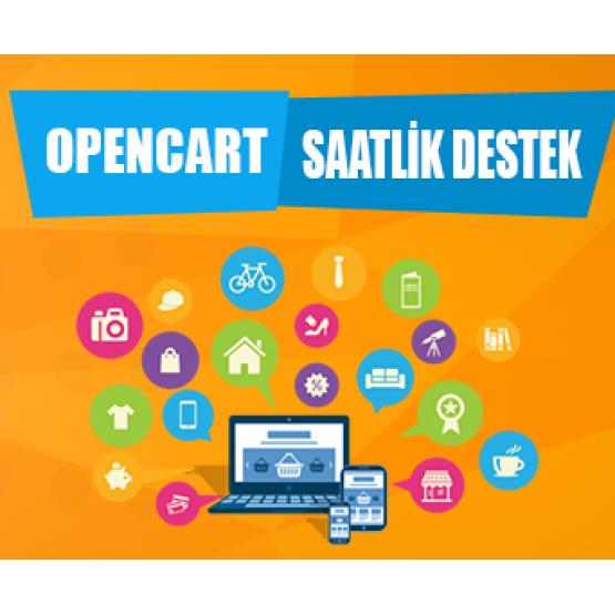 Opencart Saatlik Destek Paketi
