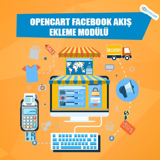 Opencart Facebook Akış Ekleme Modülü