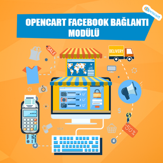 Opencart Facebook Bağlantı Modülü