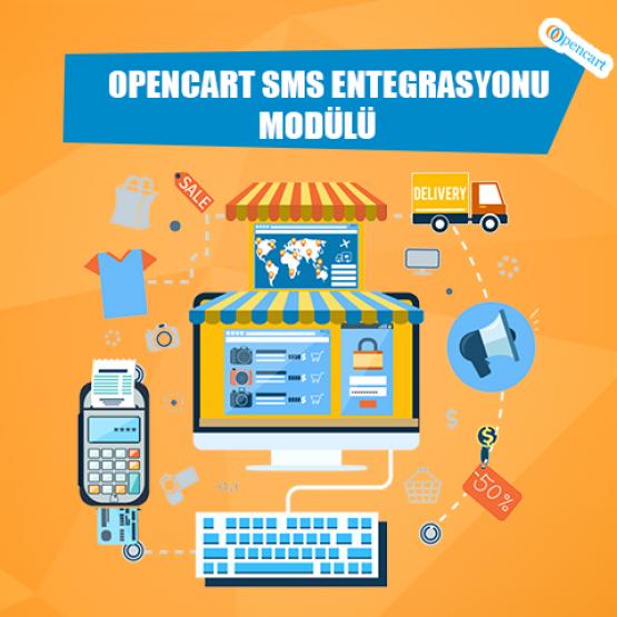 Opencart Sms Entegrasyonu Modülü