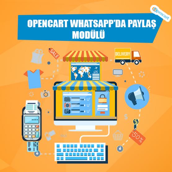 Opencart Whatsappda Paylaş Modülü