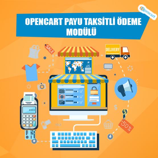 Opencart Payu Taksitli Ödeme Modülü